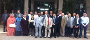 Participants of the Morocco  CoE Workshop in Casablanca (2011).