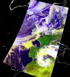 Metop-B AVHRR from Exeter, 25/04/2013.
